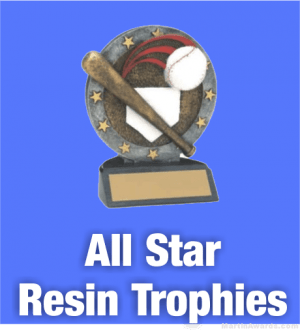 All Star Resin Trophies