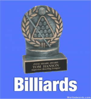 Billiards Trophies