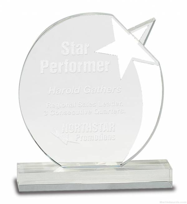 SHOOTING STAR CRYSTAL AWARD