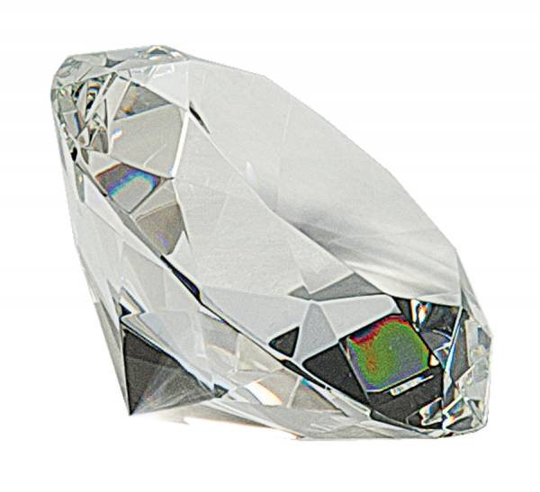 4 inch Clear Crystal Diamond profile