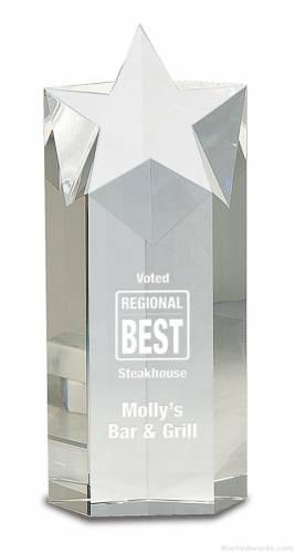 Crystal Star Column Sales Award