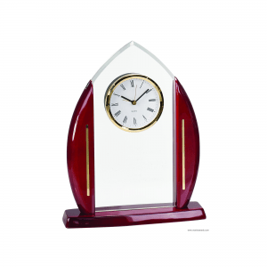 Cathedral Acrylic with Clock