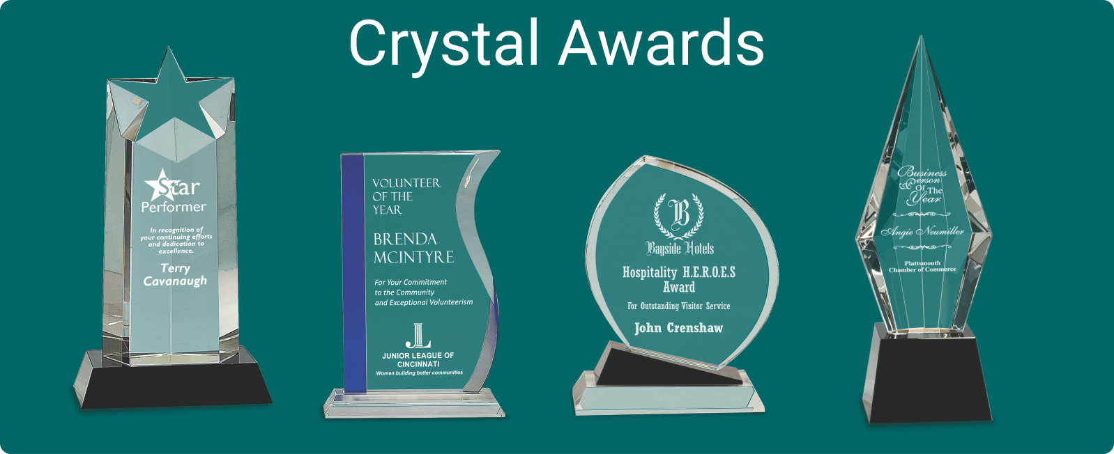 Crystal Awards - Perfect for your company
