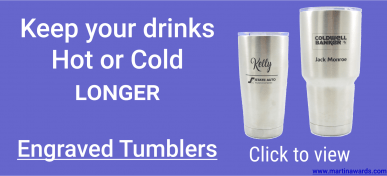 Engraved Tumblers