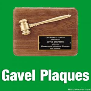 Gavel Plaques