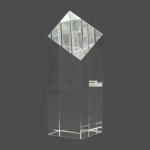 "7"" Crystal Diamond Top Pillar"