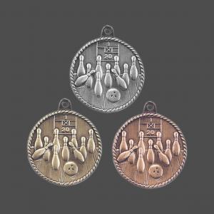 "2"" Bowling Medal"