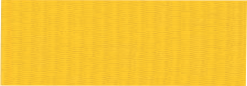 """7/8"""" Yellow Neck Ribbon with Snap Clip"""