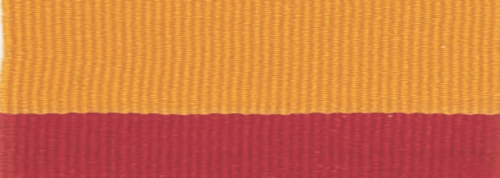 """7/8"""" Red/Gold Neck Ribbon with Snap Clip"""