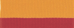 "1 1/2"" Red/Gold Neck Ribbon with Snap Clip"