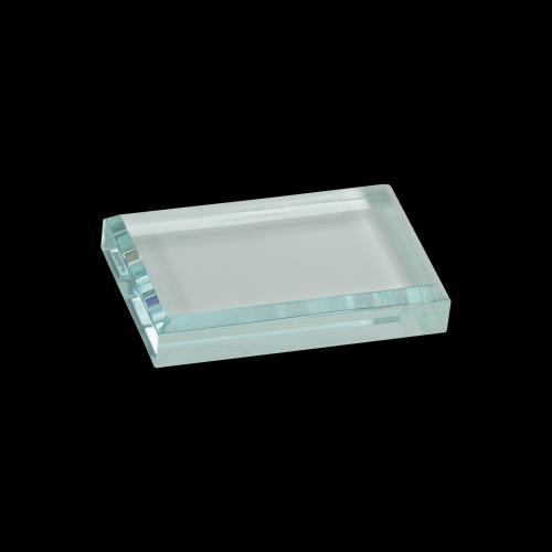 "4"" x 2 1/2"" Jade Acrylic Paperweight"