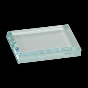 "4 1/2"" x 3 1/2"" Jade Acrylic Paperweight"