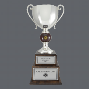 "30"" Italian Style Trophy Cup - Silver Metal"
