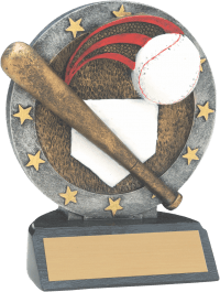"4 1/2"" Baseball All Star Resin"
