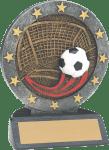 """4 1/2"""" Soccer All Star Resin"""