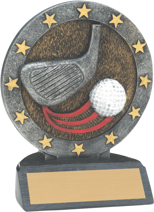 "4 1/2"" Golf All Star Resin"