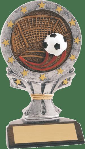 """6 1/4"""" Soccer All Star Resin"""
