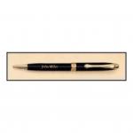 Black Brass Pen with Gold Trim