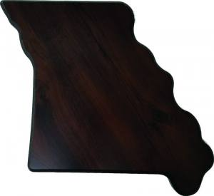 Missouri State Shaped Plaque