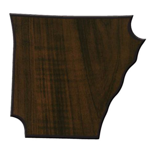 Arkansas State Shaped Plaque