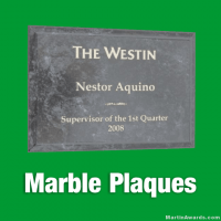 Marble Award Plaques