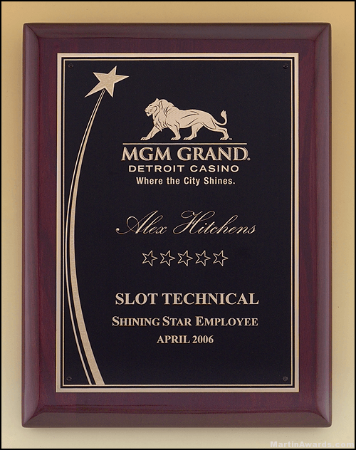 Shooting Star Plaque