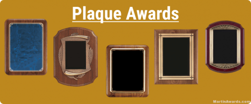 Plaque Awards