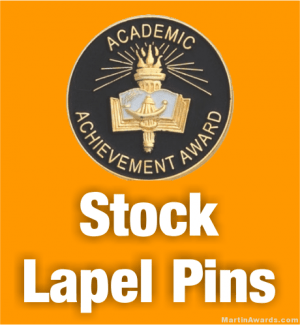 Stock Lapel Pins