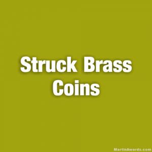 Struck Brass Coins