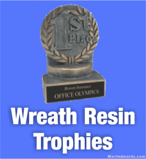 Wreath Resin Trophies