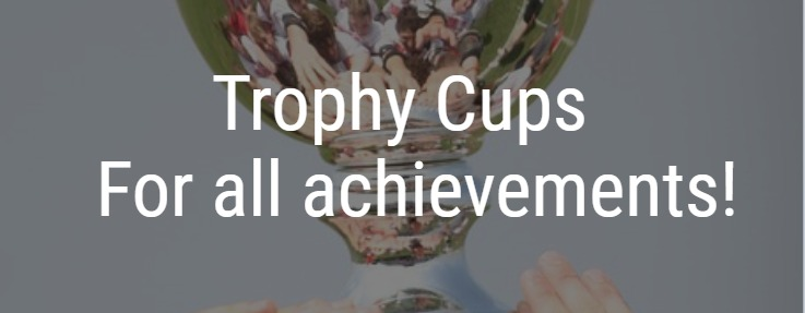 Trophy Cups for all achievements!