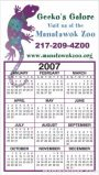 Business Calendar Magnet – Large –  Four Color Process 1