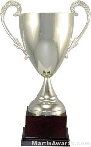 14-1/4″  ARG 1000 Silver Plated Trophy Cup 1