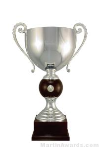 22-3/4″  ARG 1000 Silver Plated Trophy Cup 1