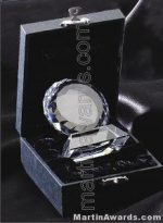 "Crystal Glass Awards - 2 1/2"" x 3"" Prism Optical Crystal"
