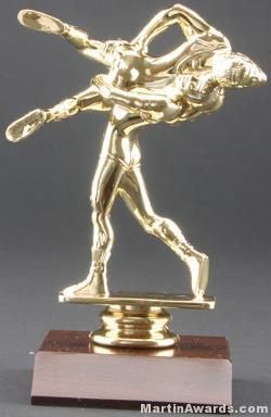 Double Wrestler Trophy 1