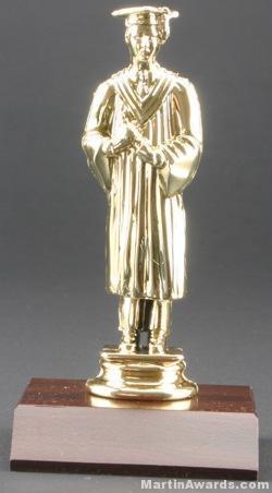 Male Graduate Trophy 1
