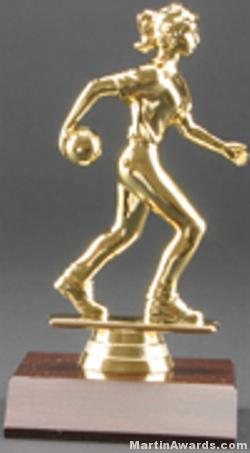 Female Bowler Trophy 1