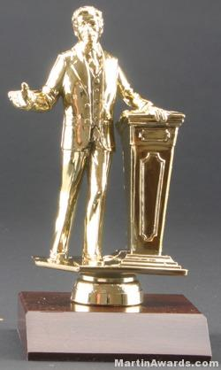 Male Public Speaker Trophies 1