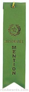 Small Ribbon, Honorable Mention Ribbons 1