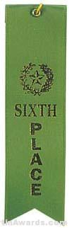 Small Ribbon, Sixth Place Ribbons