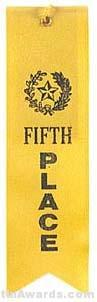 Small Ribbon, Fifth Place Ribbons 1