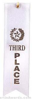Small Ribbon, Third Place Ribbons 1