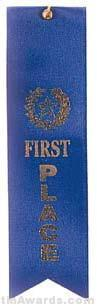 Small Ribbon, First Place Ribbons