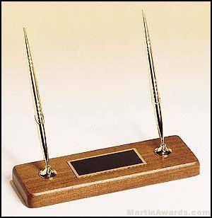 Double Pen Desk Set - Executive Series