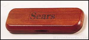 Hinged Rosewood Finish Box 1