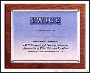 Plaque - Photo Or Certificate Plaques