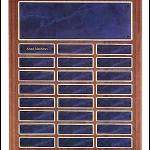 Plaque – Walnut Perpetual Plaques with Sapphire Marble Finish 1