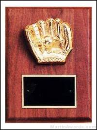 """Trent Series - 6"""" x 8"""" Walnut Plaques with Sport Cast Relief"""