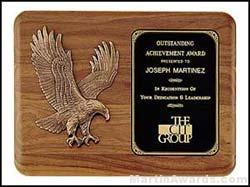 Plaque – Sculptured Relief Eagle Casting Plaques 1